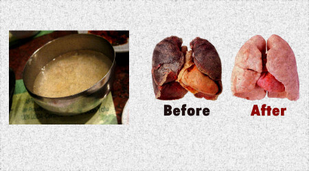 This recipe will easily clear your lungs in 3 days, even if you smoke more than 5 years