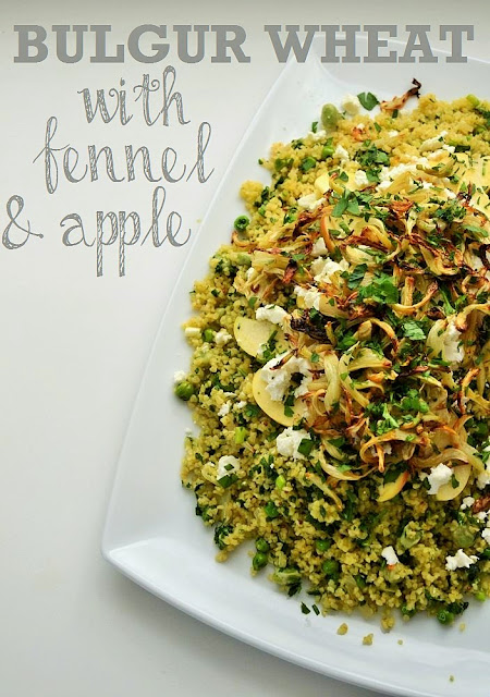 Minted Bulgur Wheat with Fennel and Apple