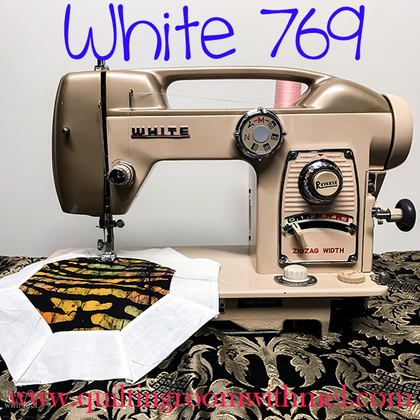 Learn more about the White 769 vintage sewing machine, link for manual included