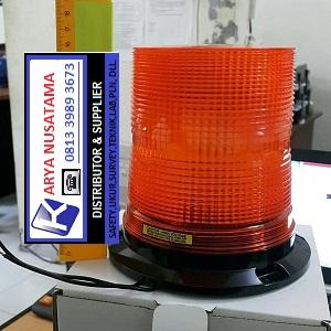 Jual Lampu Kuning 240VAC Rotary Lamp di Padang
