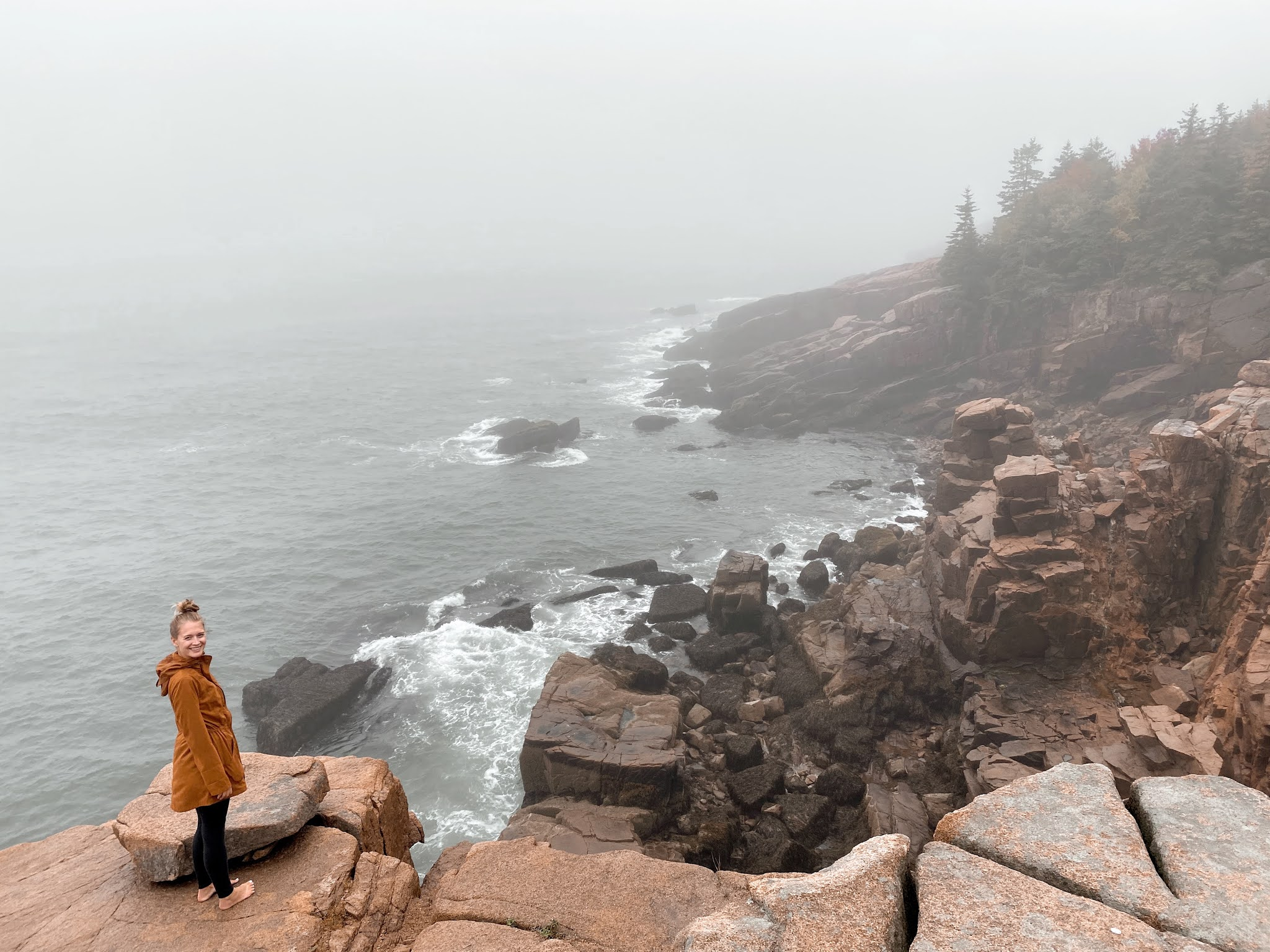 Visiting Acadia National Park in October | biblio-style.com