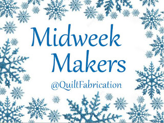 midweek makers surrounded by snowflakes