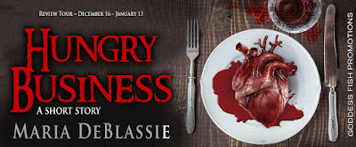 Goddess Fish tour banner for Hungry Business