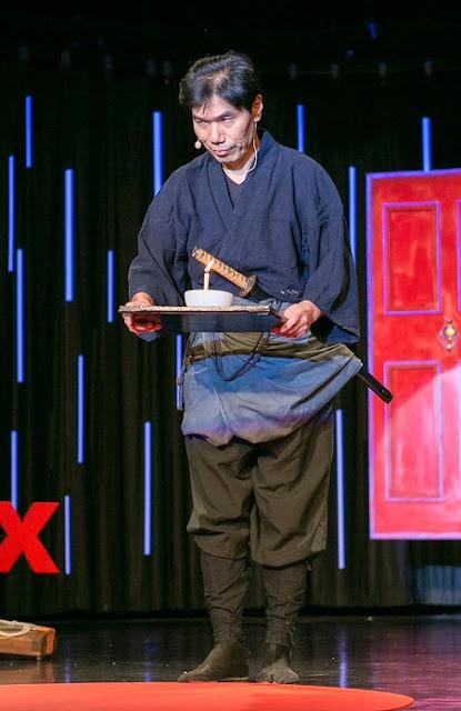 seorang ninja bernama Kawakami Jinichi