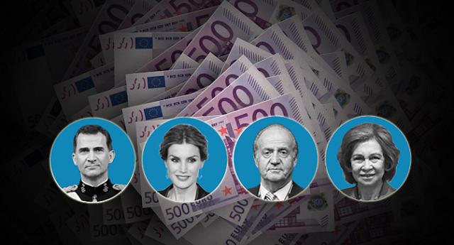 Opacidad del Portal de la Transparencia sobre el coste de la Familia Real