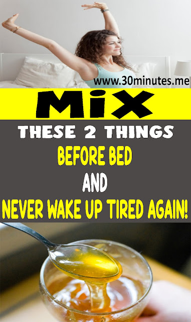 Mix These 2 Things Before Bed And Never Wake Up Tired Again!