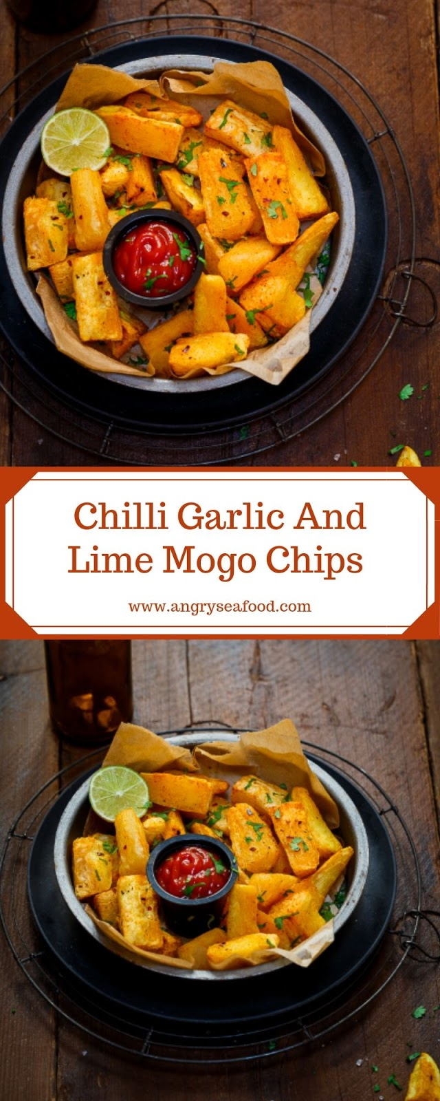 Chilli Garlic And Lime Mogo Chips