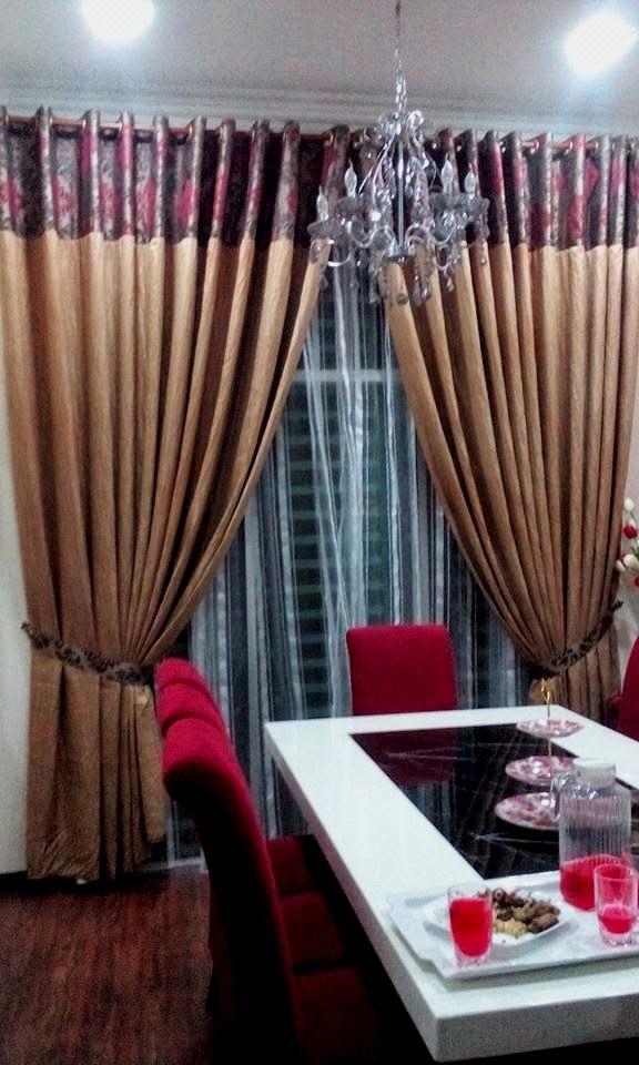 Harga Tempahan Night Curtain Paten Eyelet
