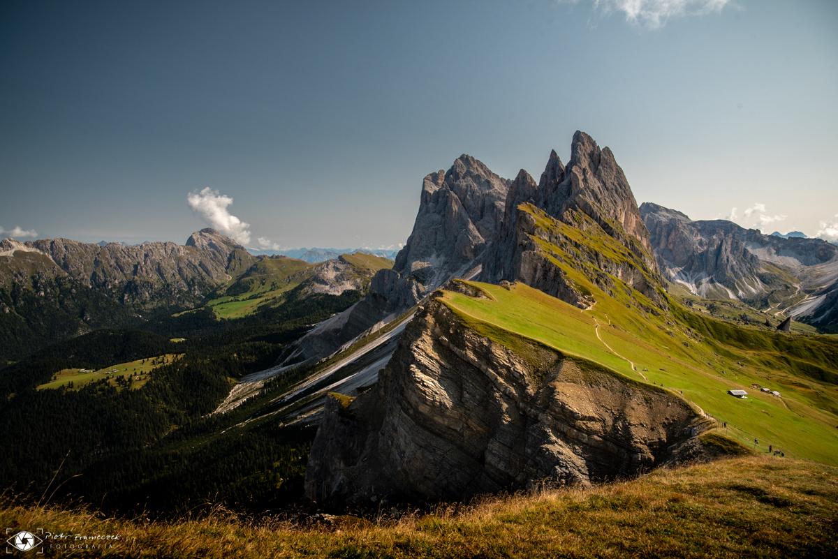 Seceda, urlop w Dolomitach