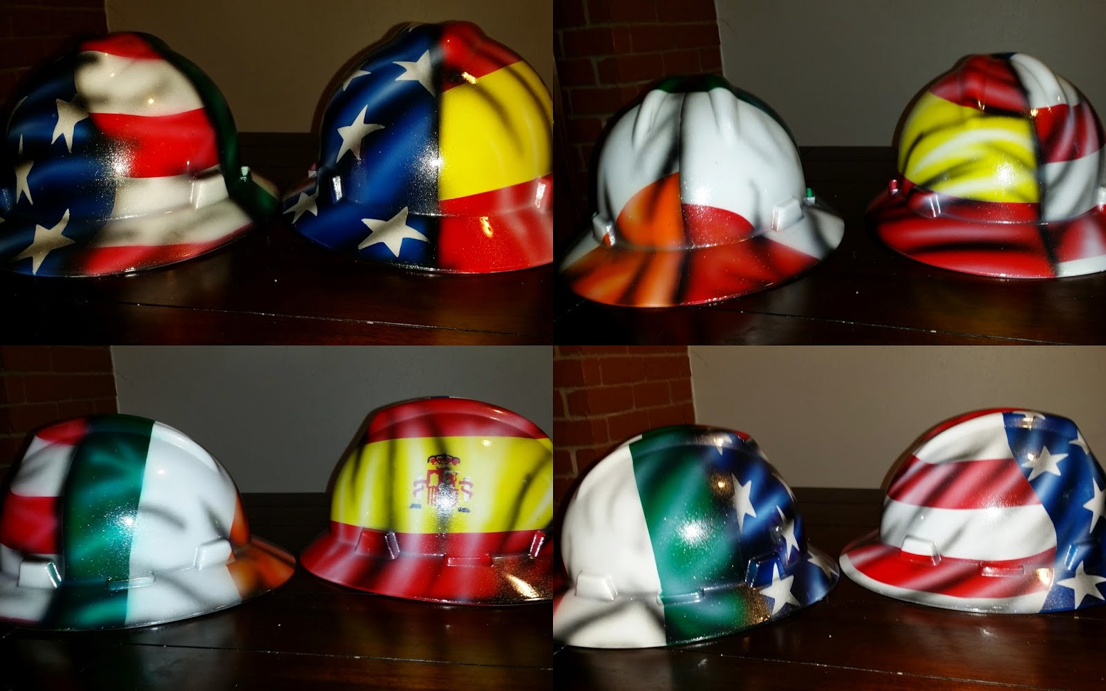 Zimmer DesignZ Custom Paint: Custom hard hats painted over