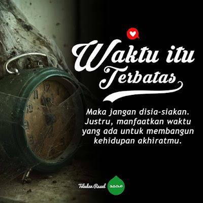 Kata bijak islam tentang waktu yang terbatas