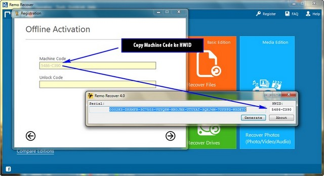 remo software activation key