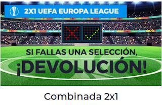 Paston Promoción UEFA Europa League Combinada 2x1 3 mayo