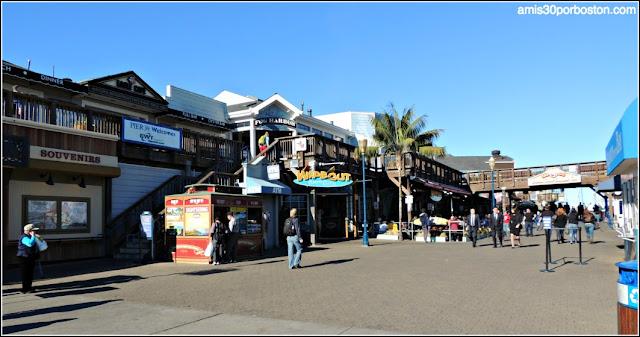 Pier 39 en el Fisherman´s Wharf de San Francisco