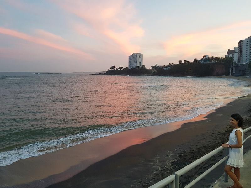 Praia da Areia Preta, centro, Guarapari