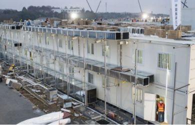 11 Hari Dibangun, Rumah Sakit Khusus Pasien Corona di China Sudah Berdiri, Lihat Fotonya