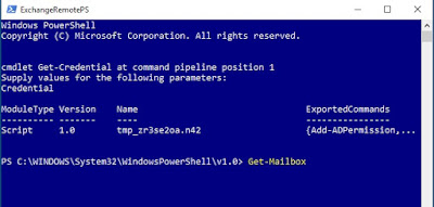 Remote PowerShell Session