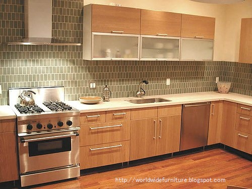 interesting kitchen backsplash tile design idea | All About Home Decoration & Furniture: Kitchen Backsplash ...