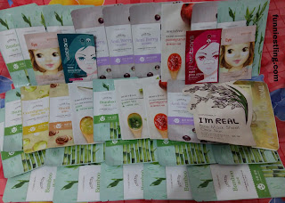korean mask sheet collection