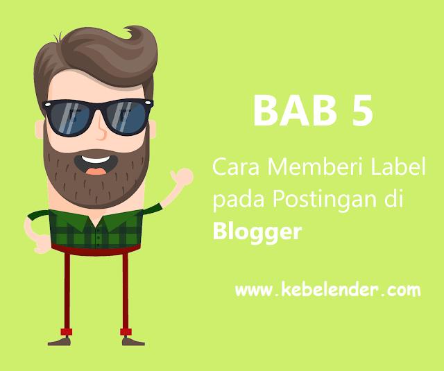 Cara Membuat Label di Blog Terbaru 2019