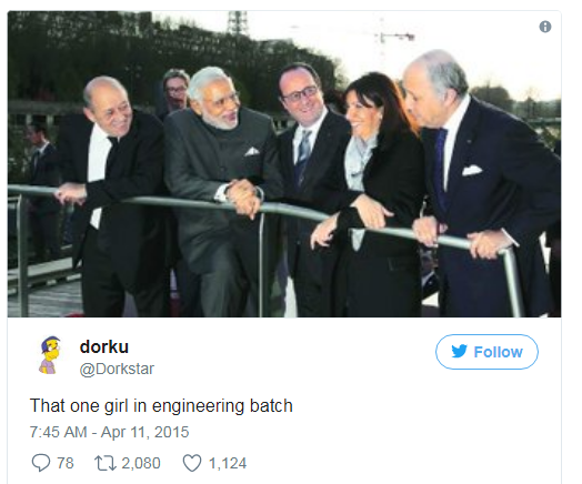 funny tweet on engineers