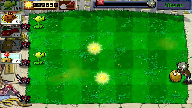cheat plant vs zombie unlimited sun tanpa root