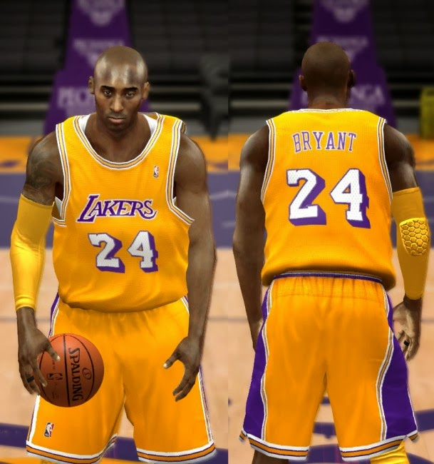 bbc1bb8c1 NBA 2K14 Complete Los Angeles Lakers Jersey Patch (Updated) - NBA2K.ORG