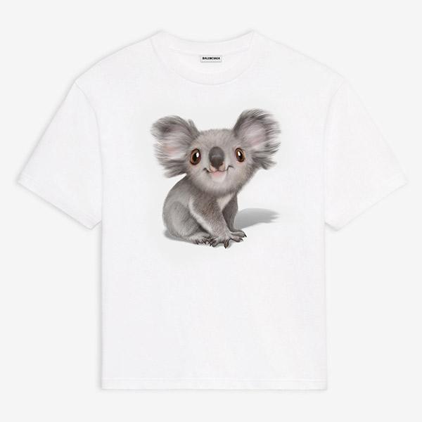 t-shirt balenciaga koala prezzo t-shirt koala balenciaga mariafelicia magno fashion blogger colorblock by felym