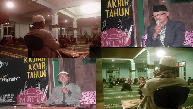 Suasana Kajian Akhir Tahur di Mesjid Jami Al-Huda, Tenjonagara
