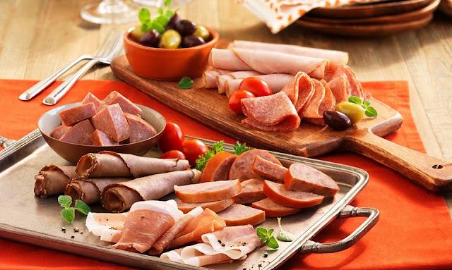 Các loại sản phẩm thịt qua chế biến