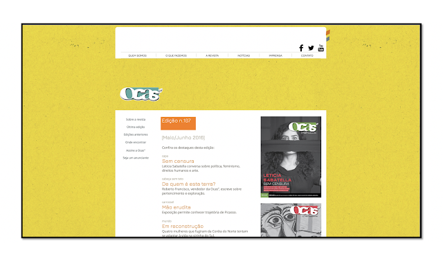 Website do Projeto Ocas