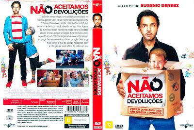 Filme Não Aceitamos Devoluções (No se Aceptan Devoluciones) DVD Capa
