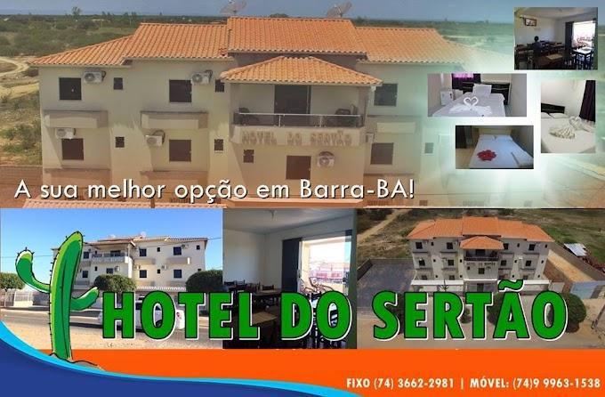 Hotel do Sertão a sua melhor opção em Barra!