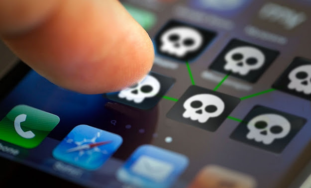 iPhone is less risky for malware than Android