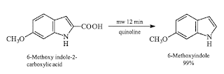 Decarboxylation-reaction-microwave-assisted-reaction