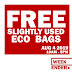 FREE: Reusable Eco, Paper and Katcha Bags at WeekenderX Tent from Blogger Friends