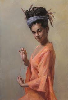 arte-figurativo-pinturas-con-mujeres cuadros-mujeres-pintadas-oleo