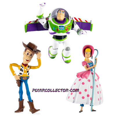 Toy Story 4 Figures Bo Peep Buzz Woody Swimways