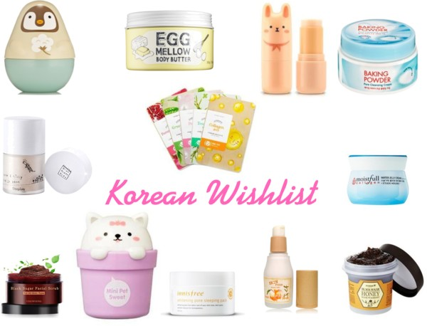 Korean Wishlist!!