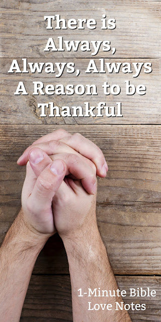 Thankfulness is an Important Aspect of a Healthy Prayer Life