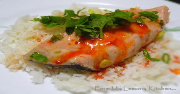 Sweet Chilli Salmon Recipe