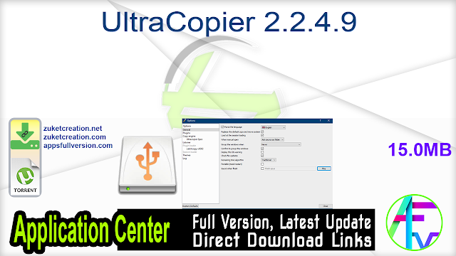 UltraCopier 2.2.4.9 Pre-Activated