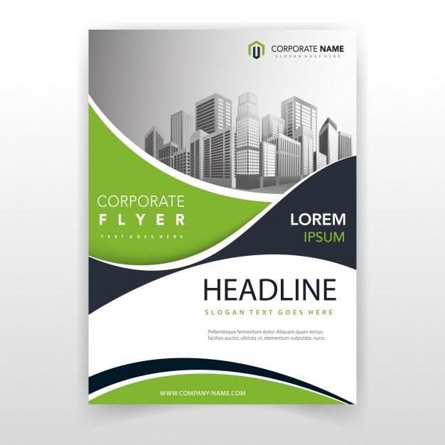 بلال ارت مصدرابداعك-تحميل بروشورمفتوح قابل للتعديل Green wave cover annual report template