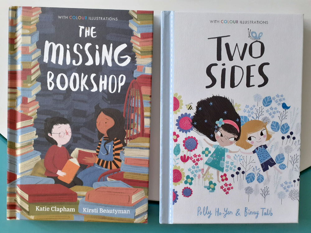The Missing Bookshop and Two Sides