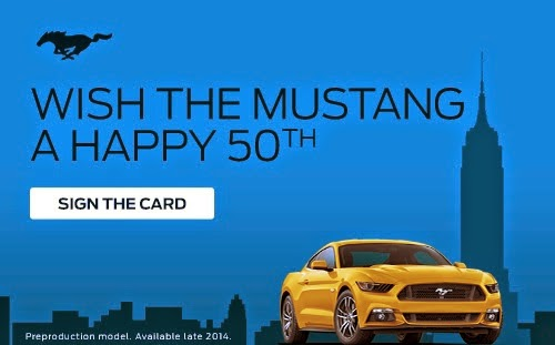 Wish the Mustang a Happy 50th