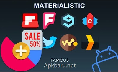 download Materialistik Icon Pack terbaru