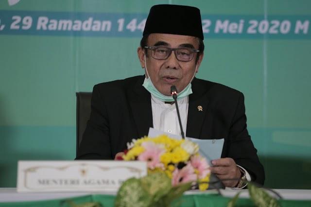 Pemerintah Tetapkan 1 Syawal 1441H Jatuh Pada 24 Mei 2020