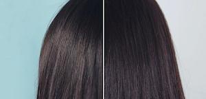 Dry oily hair