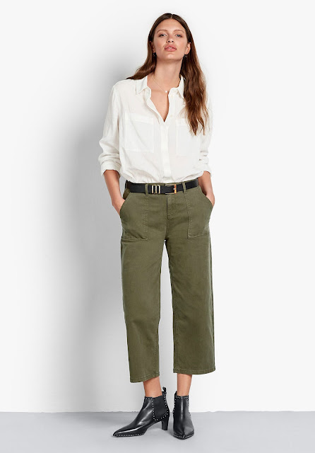 hush Chamonix wide leg chinos