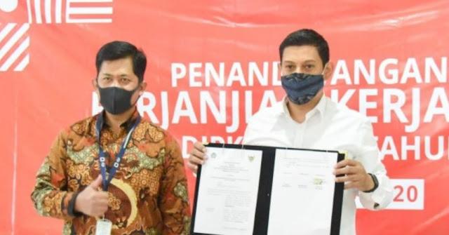 Wali Kota Kediri Tanda Tangani Perjanjian dengan DJP dan DJPK